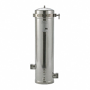 Filter Housing,Stainless Steel,96 GPM