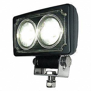 Work Light,Convex,LED,9/64VDC,2-3/8 in W