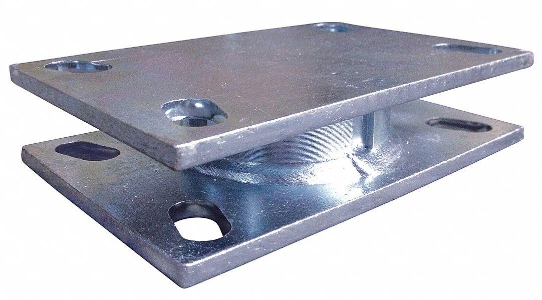 Rwm Turntable Swivel Section 1500 Lb Steel 20hk84 T65