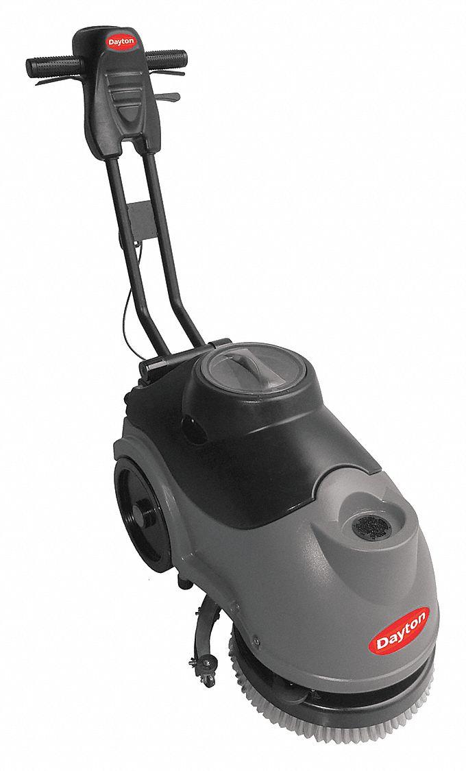 Dayton Walk Behind Floor Scrubber Compact 150 Rpm Brush