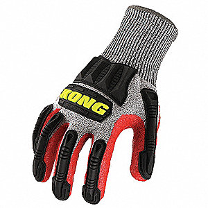 Cut 5 Knit Glove, Nitrile Coating, Unlined Lining