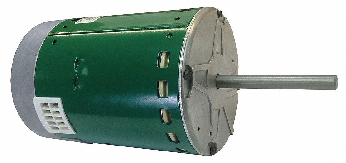 Genteq 1 hp ecm direct drive blower motor ecm 1200 for Furnace brook motors inventory