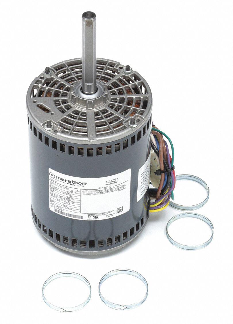 Marathon motors direct drive motor permanent split for Marathon electric motor replacement parts