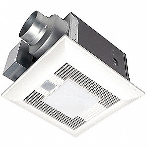 Bathroom Fan,80 CFM,0.01A,7.4W