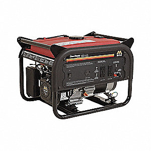 Portable Generator, 120VAC Voltage, 3000 Rated Watts, 5040 Surge Watts, 25 Amps @ 120/240V