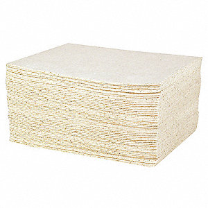 Absorbent Pad,15x19,White,PK100
