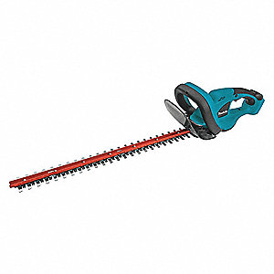 "Hedge Trimmer, Double-Sided Blade Type, 22"" Bar Length, 18V Electric Engine"