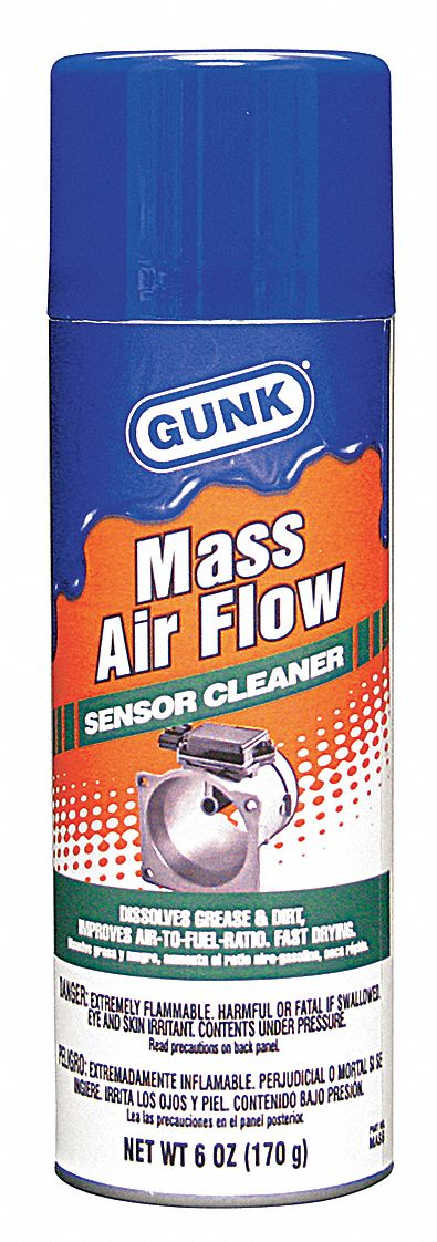 Gunk Mass Air Flow Sensor Cleaner 6 Oz 20ky79 Mas6