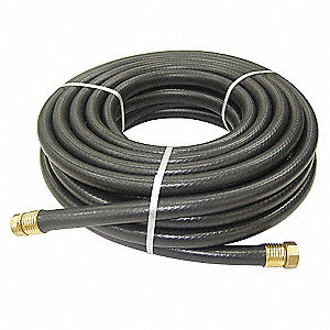 Water Hose,Rnfrcd PVC,3/4 In ID,50 ft L