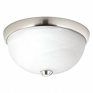 Light Fixture,13W,120V,Brushed Nickel