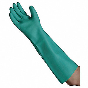 Chemical Resistant Gloves,XL,PK12