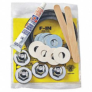 Finish Trim Kit with Neoprene Gaskets