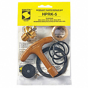Hydrant Repair Kit, Stainless Steel, Neoprene