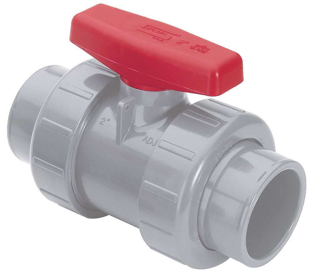 Spears cpvc socket fnpt ball valve tee quot pipe size