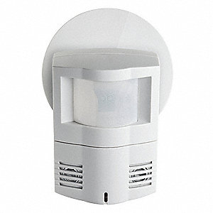 120° Corner/Wall Occupancy Sensor with Photocell, 10 to 30VDC From GE Switch Pack or GE System
