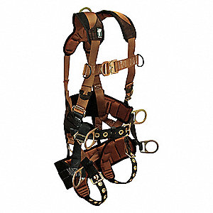 Tower Clmb Full Body Harness CTech 6D,XL