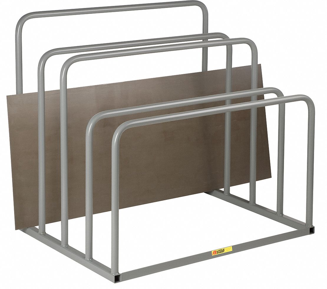 Little Giant Freestanding Vertical Sheet Storage Rack With