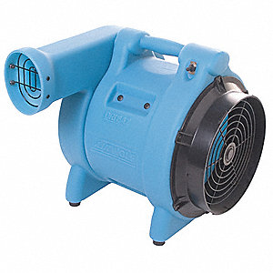 Carpet/Floor Dryer,115V,780 cfm,Blue
