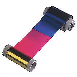 Color Printer Ribbon,Zebra