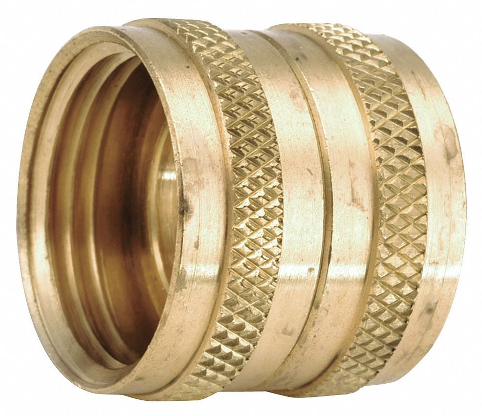 "APPROVED Low Lead Brass Swivel Union, 3/4"" FGH Connection   Garden Hose Connectors and Adapters   20XP92