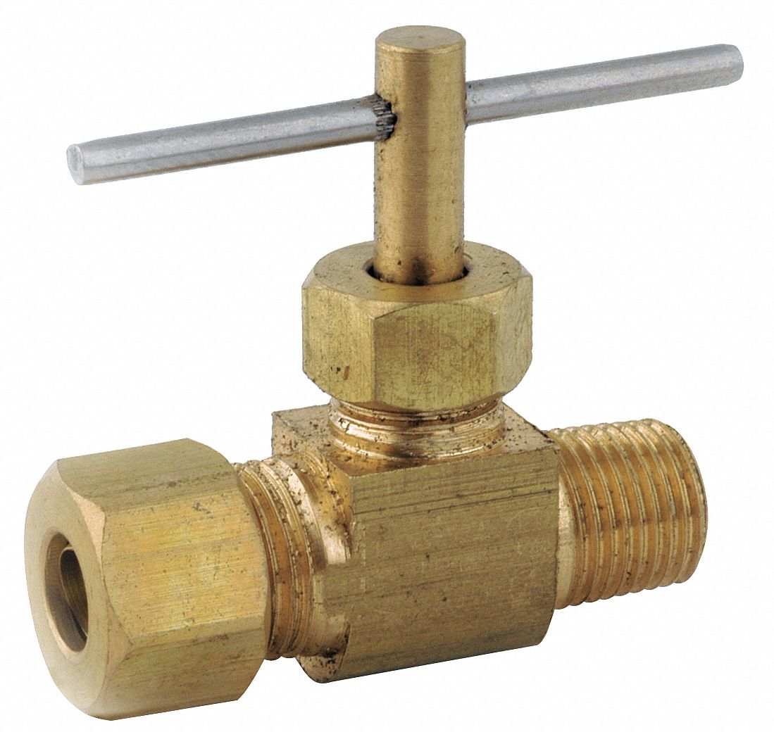 Grainger Approved Needle Valve Low Lead Brass 150 Psi