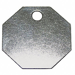 SS Octagon 1-1/2 In,PK100