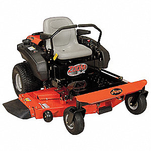 "24 HP Zero Turn Mower, 54"" Cutting Width, 1-1/2 to 4-1/2"" Cutting Height, 0"" Turning Radius"