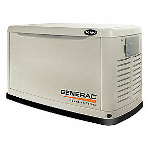 Standby Generator,14 kW,29 In H