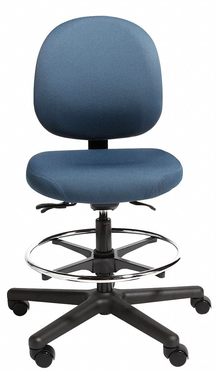 Cramer intensive 24 7 chair blue 21 29 seat ht 21d016 for Cramer furniture