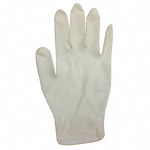 "Neutrals Disposable Gloves, Latex, Powdered, S, 5.00 mil Palm Thickness, 9-1/2"" Length"