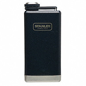 Flask, 8 oz. (0.2L) Stainless Steel Stainless Steel, Plastic