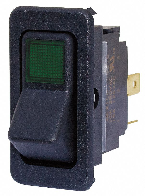 Eaton Rocker Switch  Contact Form  Spst  Number Of