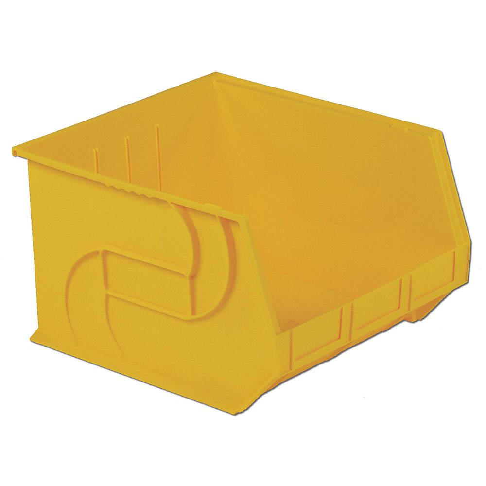 Lewisbins PB1816-11 Yellow Hang/Stack Bin, 11Hx16-1/2Wx18D, Yellow at Sears.com