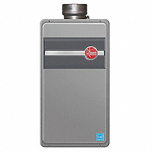 Water Heater,Tankless,Nat,11K-180K BTU