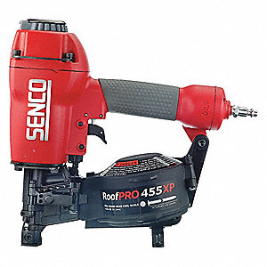 Air Framing Nailer,Full Rnd,15 Deg,Wire