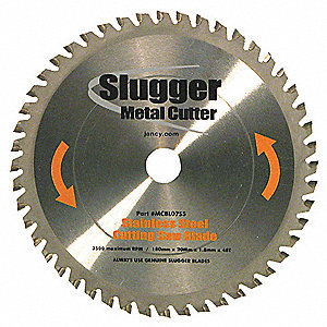 Circular Saw Blades,Stainless Steel,7 in