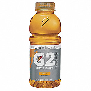 Orange Ready to Drink Low Calorie Sports Drink, Package Size: 20 oz., Yield: 20 oz.