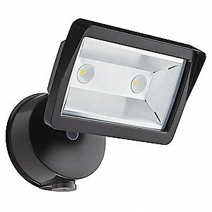 1351 Lumens LED Floodlight, Bronze, LED Replacement For 300W QH