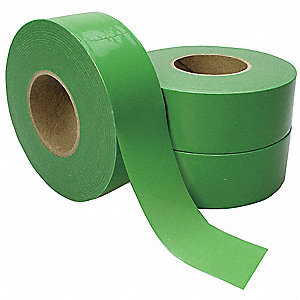 Flagging Tape,Green,Poly,300 ft,PK3