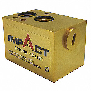 Impact Spring Assist,1/4 In,2-23/32 In L