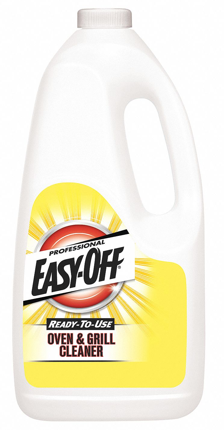 Easy Off Stove Top Cleaner: PROFESSIONAL EASY-OFF Oven Cleaner, 2 Qt. Jug, Unscented