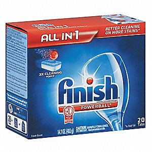 Tablet Dishwashing Detergent, 14.4 oz. Box, 8 PK