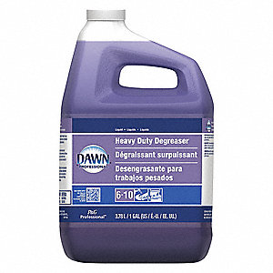 Liquid Heavy Duty Degreaser, 1 gal. Bottle, 3 PK