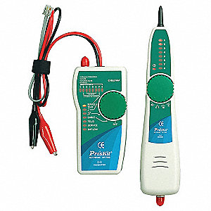 Tone Generator and Probe KitApplication Cable/Wire and Pair Tracing, Continuity Testing, Polarity In