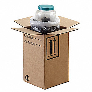 HAZMAT Shipping Kit,32 oz. Bottle,PK12