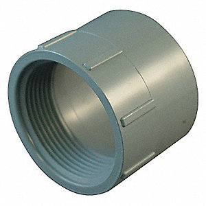 "CPVC Adapter, 2"" Pipe Size, FNPT X Hub Connection Type"