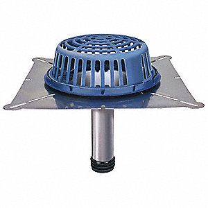 Roof Drain Dome,12 In L