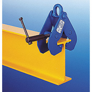 Beam Clamp,6000 lb,3-7/10 to 13-1/4in