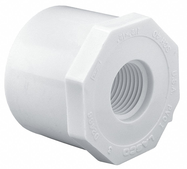 Lasco Pvc Reducing Bushing Spigot X Fnpt 3 Quot X 1 1 2