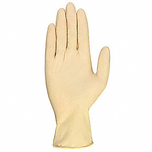 Condor Latex Disposable Gloves, Powder Free, 6 mil
